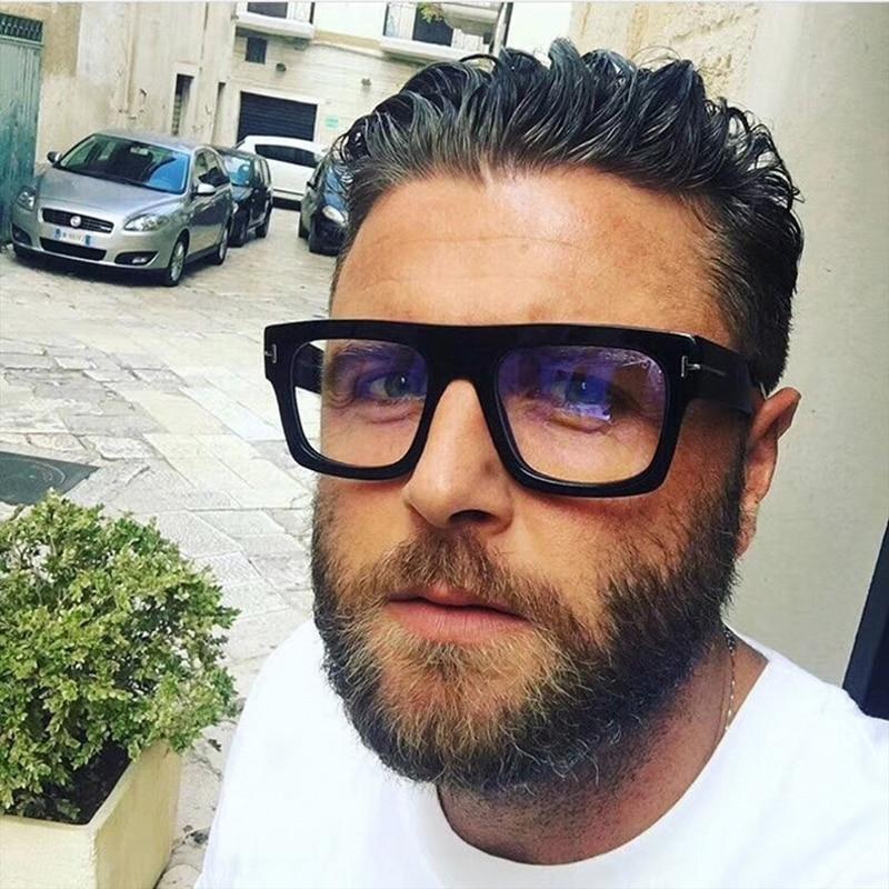 2020 Tom Square Luxury Glasses Frames Men Women Trending Styles UV400 Optical Fashion Anti-blue lightComputer Glasses