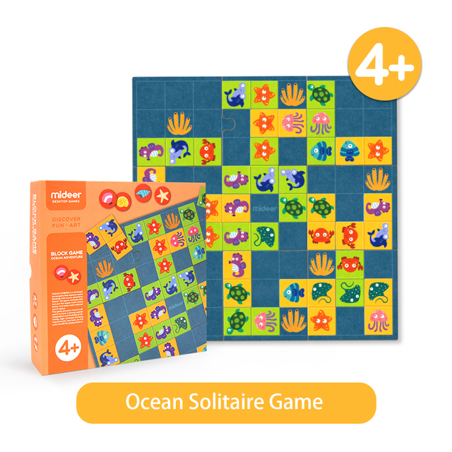 this shows the playing tiles for the Marine Dominoes game along with the box it comes in