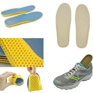 Image 5 - Sports Shock Insole Stretch Breathable Deodorant Running Cushion Breathable Sweat Men and Women Insoles For Sneakers Memory Foam