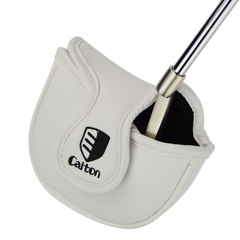 Golf Head Covers Driver Iron Putter Protective Covers Golf Club Protector Golf Accessories Fits All Mallet Putters