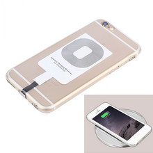 For iPhone 5 6 S Smart Charging Recepteur Adapter For Apple Iphone 5 5s 5c Se 6 6s 7 Plus Qi Wireless Charger Receiver Pad Card цена