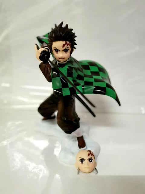 Kimetsu no Yaiba Figure Nezuko Zenitsu Tanjirou Giyuu ARTFX J 1/8 PVC Action Figure Toy Demon Slayer Anime Collectible Figurine
