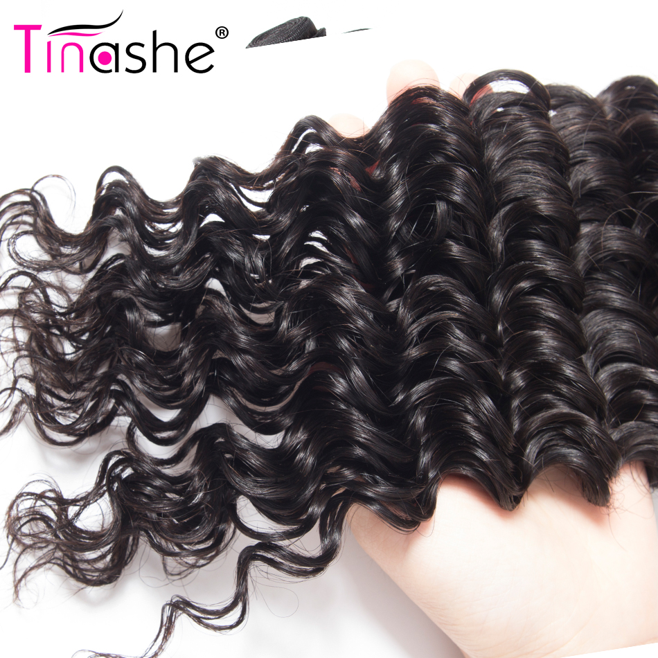 Hbf1e58f4443b4d29b62e23ff6ceb564f0 Tinashe Deep Wave Bundles With Closure 5x5 6x6 Lace Closure And Bundles Remy Brazilian Human Hair Weave 3 Bundles With Closure