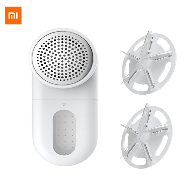 XiaoMi Mijia Electric Lint Remover Clothes Sweater Shaver Trimmer Portable USB Sweater Pilling Shaving Sucking Ball Machine