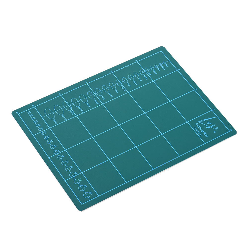 Double-Sided Self Healing Rotary Cutting Mat Non-Slip PVC For Hobby Fabric Cutter Craft Knife Set, A4