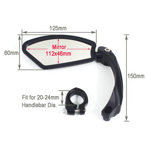 Image 5 - Hafny Bicycle Rearview Mirrors 360° Rotatable Rearview Mirror Handlebar Rearview mirror Bike Cycling Safety Rear View Mirror