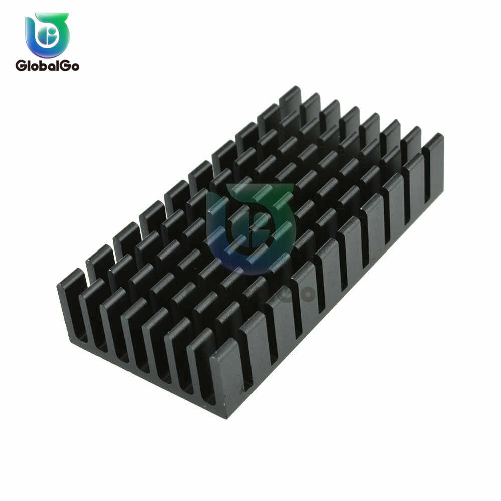 22X22X25 40x40x11 150x25x10 Cooling Aluminum Sheet Heatsink Transistor Heat Sink Cooler Radiator Cooling For Computer Components