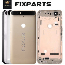 Original New for Huawei Google Nexus 6P Battery Cover Rear Door Housing Replaceme for huawei Nexus 6P Battery Cover Back Housing стоимость