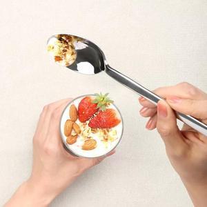 Image 3 - Huohou Stainless Steel Steak Knives Spoon Fork Tableware Quality High grade Dinner Dinnerware Household Cutlery Set