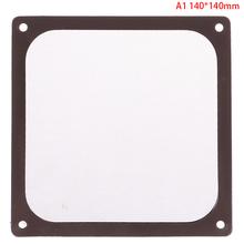 12CM 14CM 8CM ramka magnetyczna czarna siatka osłona pyłoszczelna PC pyłu filtr magnetyczny dla wentylator obudowy tanie tanio KOQZM CN (pochodzenie) Pył okładki DISK Sprzętu