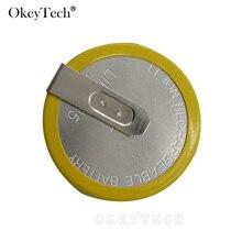OkeyTech перезаряжаемый аккумулятор LIR 2025 3,6 В для ключей BMW e46 e39 e36 e38 e34 чехол для пульта дистанционного управления для автомобильного ключа Фирменная батарея с кнопкой