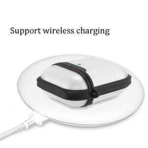 Image 3 - כיסוי עבור Airpods מקרה שקוף מט אביזרי אוזניות אלחוטי Bluetooth כיסוי עבור אפל Airpods פרו מקרה 3 שקית