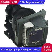 Projektor zastępczy nieosłonięta lampa z obudową 331 2839/725 10284 do DELL 4220 4230 4320 z 180 dni gwarancji