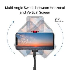 Image 3 - 自撮り棒 ワイヤレス垂直撮影 Bluetooth Selfie スティック三脚ミニポータブル 15 キロ Playload スマートフォン Selfie アンドロイド iphone IOS