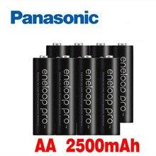 12 шт. батарея Panasonic eneloop основная батарея Pro AA 2500 мАч 1,2 в Ni-MH камера игрушка-фонарик Подогреваемая аккумуляторная батарея