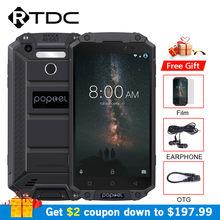 POPTEL P9000 Max IP68 wodoodporny wstrząsoodporny telefon komórkowy 5.5