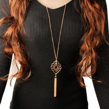 Элегантное красивое ажурное ожерелье в европейском и американском