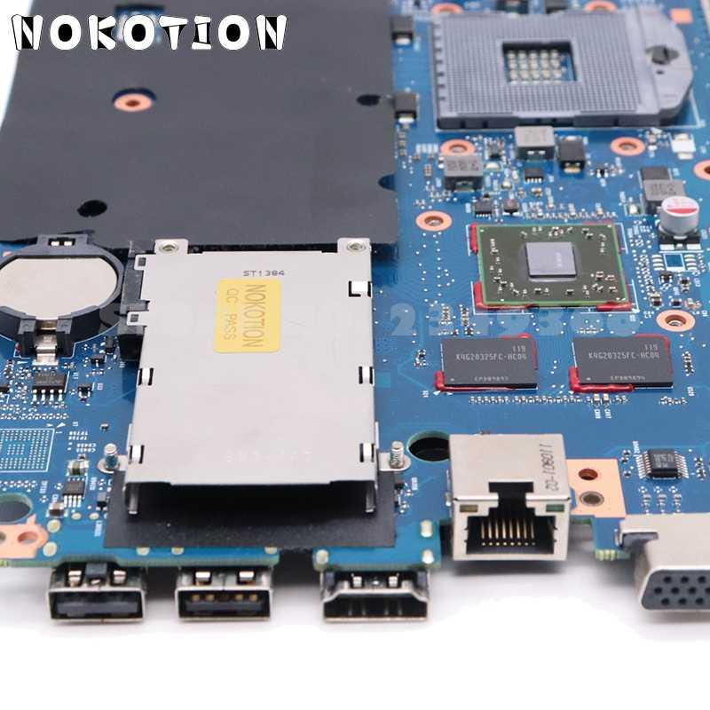 Nokotion 670795-001 658343-001 para hp probook 4530s 4730s placa-mãe do portátil 6050a2465501-mb-a02 hm65 ddr3 1 gb gpu