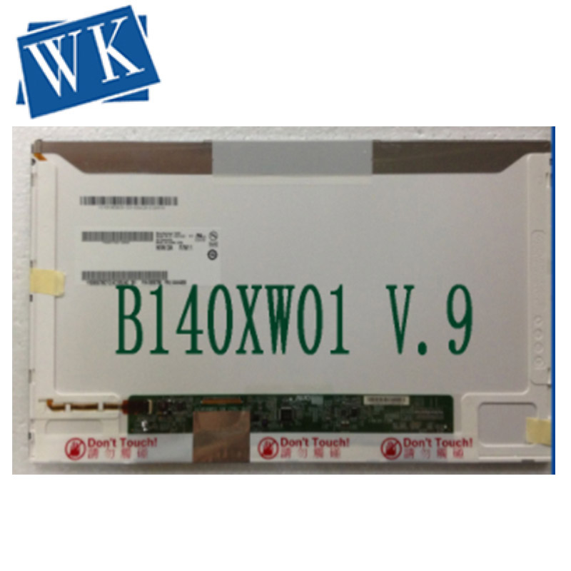 14.0 écran lcd d'ordinateur portable LTN140AT02 LTN140AT07 B140XW01 N140B6-L02 HSD140PHW1 LTN140AT16 LP140WH4 M140NWR2