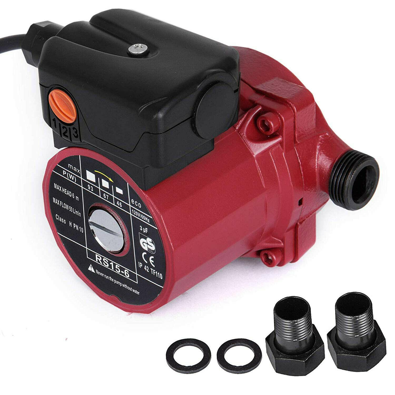 NPT 3/4'' Circulation Pump 110-120V Cold & Hot Water Circulating Pump,3-Speed