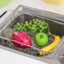 Expandable Dish Drying Rack,Over the Sink Adjustable Arms Drainer,Dish Rack in or on Counter with Utensil Silverware S