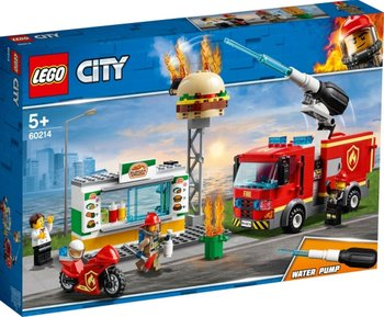LEGO 60214 Fire at the Burger Restaurant lego at at page 5