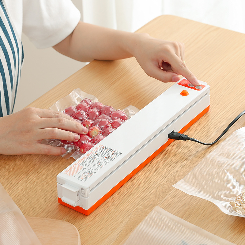 110V And 220V Household Food Vacuum Sealer Kitchen Appliances Vacuum Packaging Machine Food Sealer Machine Vacuum Packers