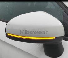 Intermitente de espejo dinámico para coche, repetidor de indicador de luz LED para Audi A1 8X, 2011, 2012, 2013, 2014, 2015, 2016, 2017