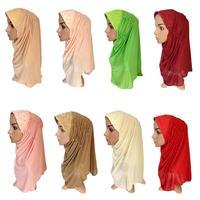 12PCS Ramadan Muslim Women Mesh Beaded Hijab Hats Scarf Islamic Amira Caps HeadwearRandom Color