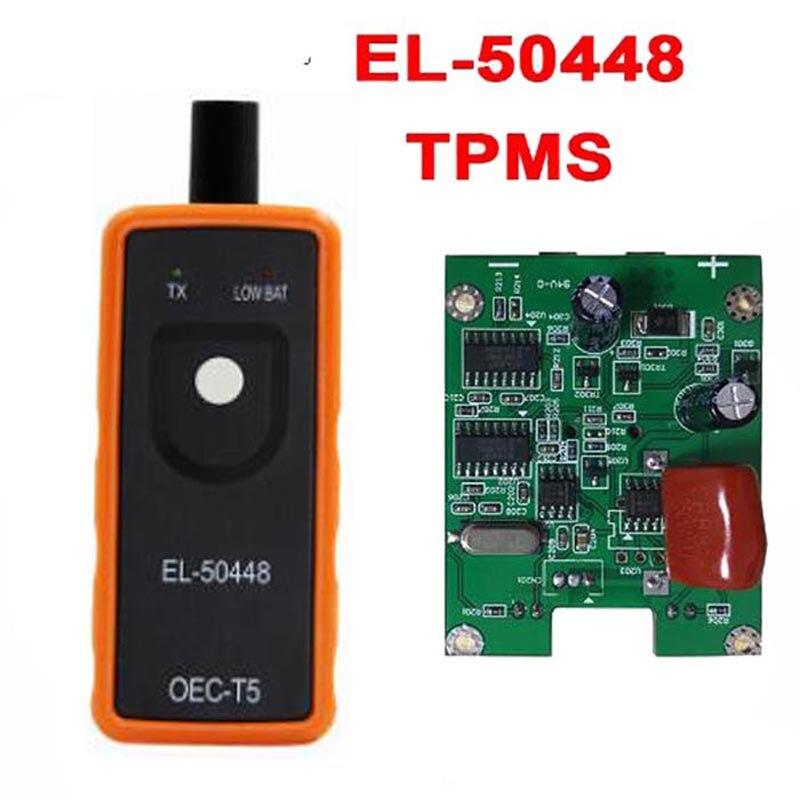 Beste Qualität A + EL50448 Auto Reifendruck Monitor Sensor OEC-T5 EL 50448 Für G M TPMS Reset Tool EL-50448 elektronische