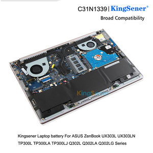 Image 5 - KingSener Batería de portátil C31N1339 para ASUS Zenbook UX303L UX303LN TP300L TP300LA TP300LJ Q302L Q302LA Q302LG C31N1339 50WH