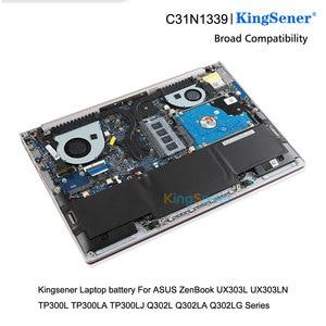 Image 5 - KingSener C31N1339 מחשב נייד סוללה עבור ASUS Zenbook UX303L UX303LN TP300L TP300LA TP300LJ Q302L Q302LA Q302LG C31N1339 50WH
