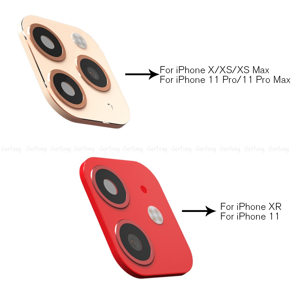 Hbf20b8a108474c6dbdbfb6fc070fc68aG - 3D Alumium Camera Lens Seconds Change for iPhone 11 Pro Max Lens Ring Cover Sticker For iPhone X R XS MAX Rear Protective Cover