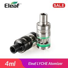 Oryginalny Eleaf LYCHE Atomizer 4ml Eleaf Lyche NotchCoil sub-ohm zbiornik Eleaf cewka dolny szczelny kubek boczny zbiornik do e-papierosa tanie tanio Metal Wymienne 22mm(D) * 59mm(L) Stainless Steel Side filling