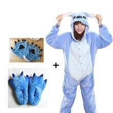 2020 Onesies con diseño de Panda adulto pijama Unisex azul negro Cosplay fiesta pijamas de animé niños pijamas de los niños ropa de dormir