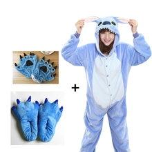 2020 Panda Onesies Adult Pajamas Unisex Blue Black Cosplay Party Wear Anime Pyjamas Children Kids Pajamas Sleepwear