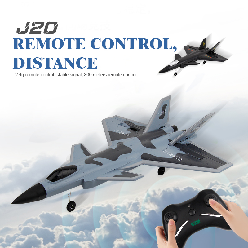 RC Plane 320mm Wingspan 2.4GHz 2CH EPP RC Airplane Toys Warbird RTF Boys Girls Airplanes Interesting Outdoor Toy gift for Child
