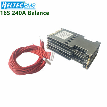 16S 240A BMS Balance Board for 3.7V 18650  Li-ion  Battery protection board Balance