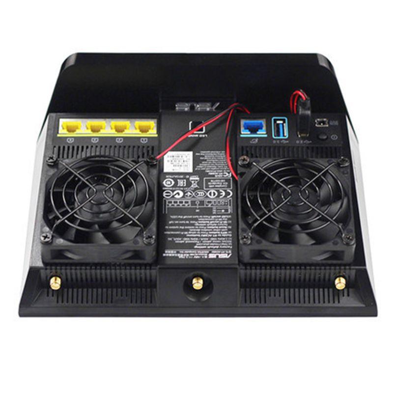 1Set Cooling Fan USB Fan Cooler for A-SUS RT-AC68U/AC86U/AC87U/R8000 Router