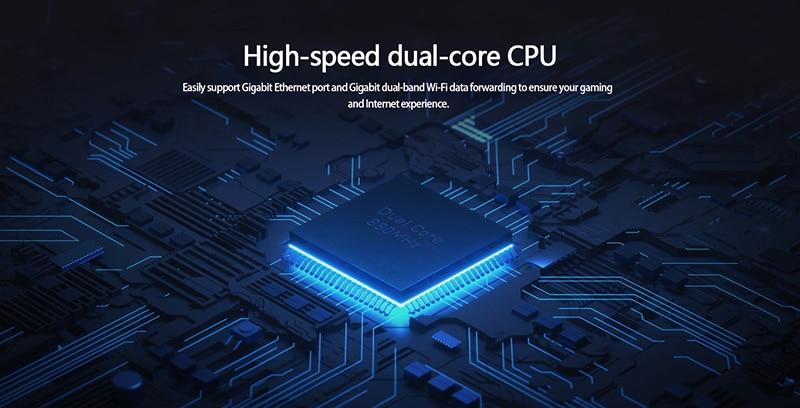 Xiaomi AC2100 router 2.4G/5G dual frequency Wifi 128M RAM with External Signal Amplifier
