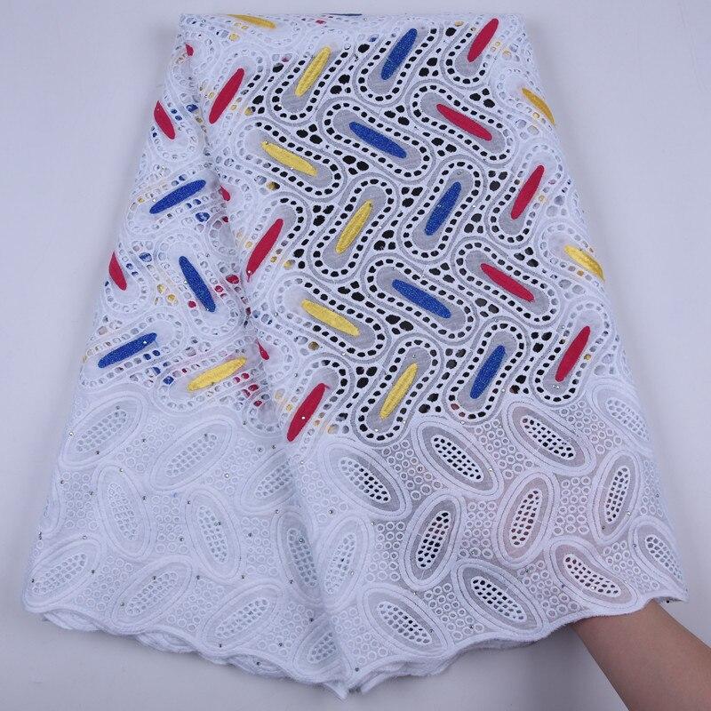 Африканская вышивка хлопок с камнем кружева ткань 2019 высокое качество кружева французский чистая маркизет кружевные ткани для вечерние пл...
