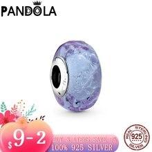 2020 новый 925 стерлингового серебра волнистым бледно лиловый
