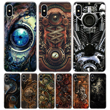 Steampunk Gear Mechanical Cover Phone Case For Ipho