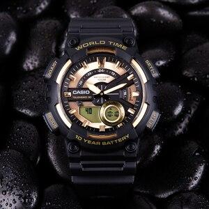Image 5 - Casio watch Bán chạy nhất đồng hồ nổ nam thiết lập thương hiệu hàng đầu sang trọng quân đội đồng hồ kỹ thuật số relogio thể thao 100m không thấm nước thạch anh đồng hồ relogio masculino reloj hombre erkek kol saati