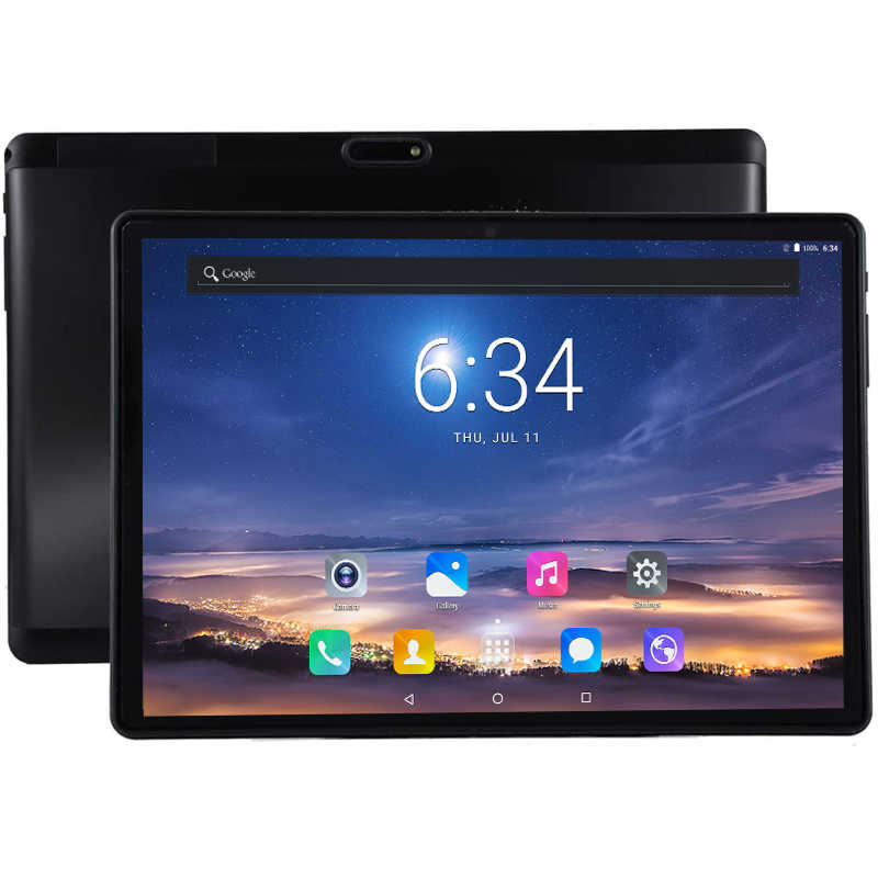Gift 64Gb Kaart 1920X1200 10.1 Inch 2.5D Tablet 8 Octa Core Dual Sim 4G Lte Fdd 8.0 Mp Gps Android Google Tablet Pc 2.4G + 5G Wifi