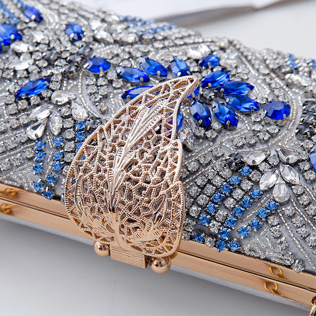 Luxury Diamond Embellished design Clutch 6