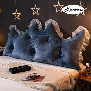 Image 5 - Chpermore 다기능 fallei 크라운 긴 베개 간단한 침대 쿠션 침대 부드러운 현대 단순 침대 베개 잠자는