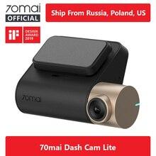 Международный автомобильный видеорегистратор 70mai 1080P HD Smart Dash board 70mai Lite камера приложение управление вождения рекордер 140 FOV gps скорость камера