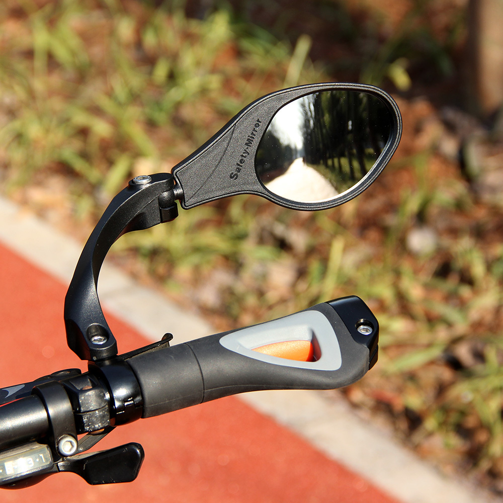 Rear View Mirror For Bike Mirror MTB Road Cycling Handlebar Back Eye Blind Spot Mirror Flexible Safety Rearview Bicycle Mirrors