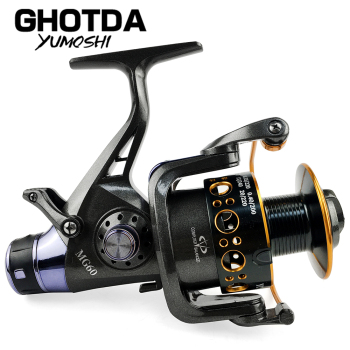 Ghotda Fishing Reel Carp Fishing Feeder Spinning Reel Spinning Wheel 5.2:1/5.0:1 Double Brake Design